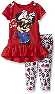 Disney Girls' Minnie Mouse 2-Piece L...