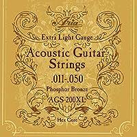 ARIA アリア AGS-200XL×3セット アコースティック弦/フォスファー・ブロンズ