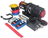 OPENROAD 12V 4500LBS Electric Synthetic Rope ATV Winch Kits for Towing ATV/UTV...