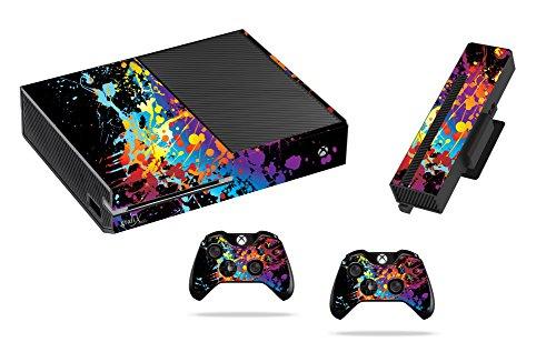 Verf splat Sticker/Huid xbox een Console, Kinect & Afstandsbediening stickers, x1sk19