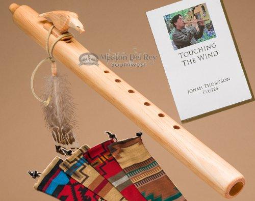 Native American Flute Pack -Natural Eagle & Bag