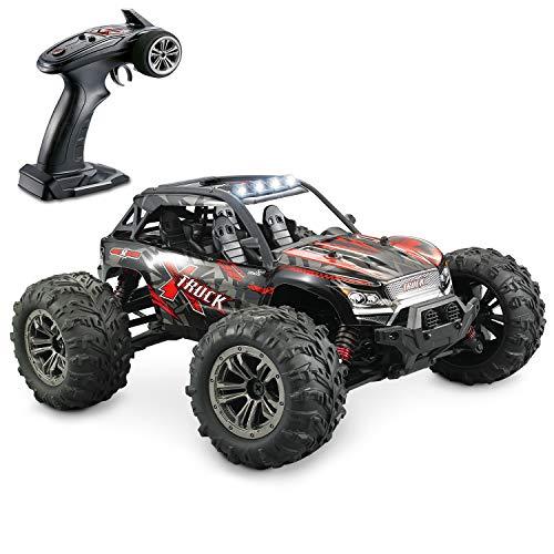 Hosim Ferngesteuertes Auto 1:16, RC Offroad Car 4WD 36 km/h, Elektronischen Spielzeugauto für Kinder Und Erwachsen (Modellnummer: 9137, Orange)