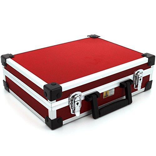 allit 424110 Utensilien-Koffer AluPlus Basic, GrӇe: L, rot