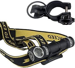 Combo: Armytek Wizard Pro v3 XHP50 (Warm) USB Magnet Rechargeable Headlamp -2150 Lumens -Battery Included +Bike Mount