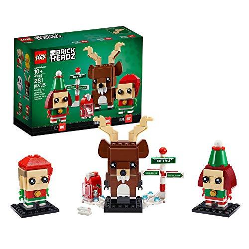 LEGO 40353 Brickheadz Rentier und Elfen,...