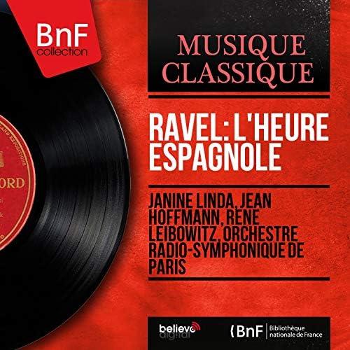 Janine Linda, Jean Hoffmann, René Leibowitz, Orchestre radio-symphonique de Paris