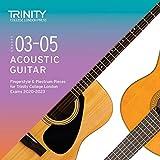 Grades 3-5 Acoustic Guitar Fingerstyle & Plectrum Pieces for Trinity College London Exams 2020-2023