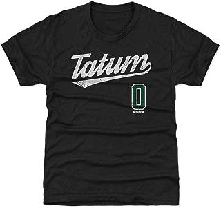 500 LEVEL Jayson Tatum Boston Basketball Kids Shirt - Jayson Tatum Script
