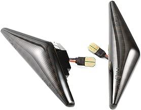 Flowing LED Side Marker Signal Light Indicators Canbus for Ford Focus MK1 (Black)