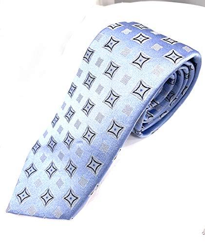 Emporio Armani Krawatte aus Seide, Design Jacquard, Maße: 138 x 6,5 cm