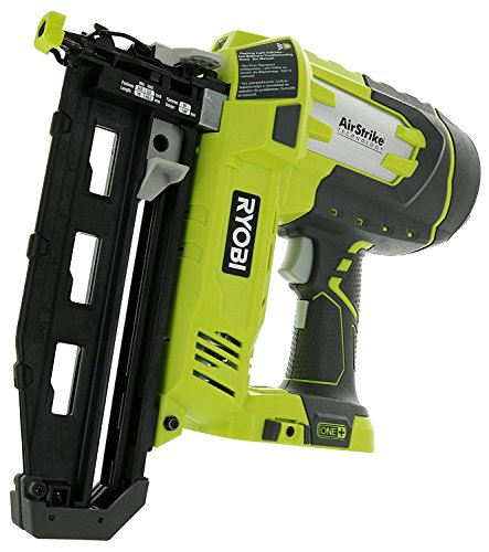 Ryobi P325 One+ 18V Lithium Ion Battery Powered Cordless 16 Gauge Finish...
