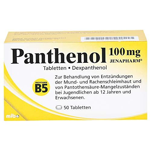 Panthenol 100mg Jenapharm, 50 St