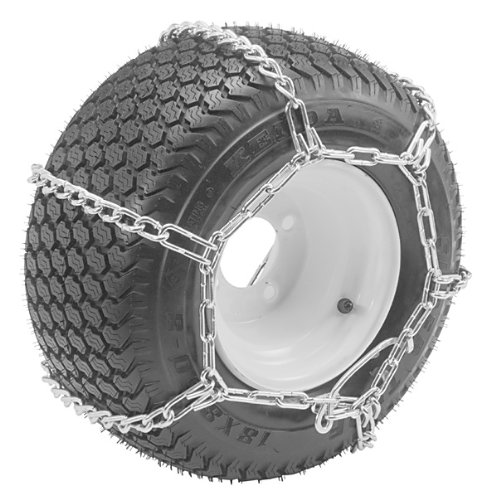 Great Deal! Oregon 67-011 Lawn & Garden Tire Snow Chains With 4-Link Spacing Size 23X950-12 & 23X105...