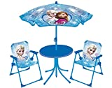 FUN HOUSE 712352 DISNEY Reine des Neiges Salon de Jardinpour enfant (Table + 2...