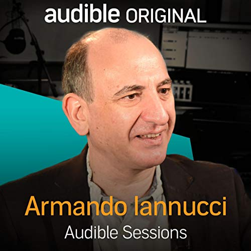 Armando Iannucci audiobook cover art