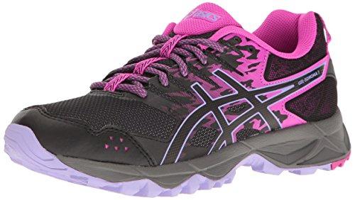 ASICS Gel-Sonoma 3 Trail Runner para mujer, rosa (negro, rosado, lavanda, (Pink Glow/Black/Lavender)), 42 EU