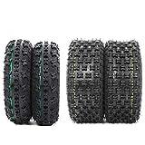 Set of 4 New Sport All-Terrain ATV UTV Tires 21x7-10 Front & 20x10-9 Rear Tubeless 4PR P348