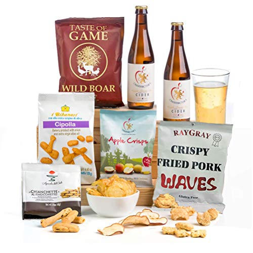 Cider, Pork & Apple Man Hamper Gift Box - FREE UK delivery