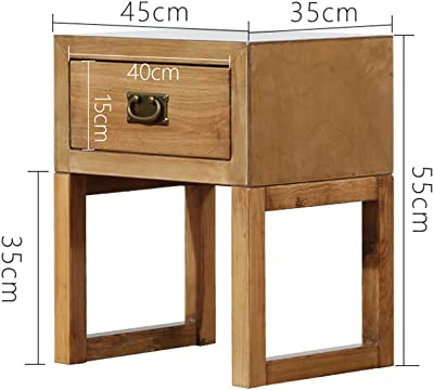 Amazon.com: casart extremo mesa madera mesita de noche ...