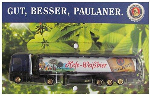 Paulaner Nr.10 - Hefe-Weißbier - Renault - Sattelzug mit Tankauflieger