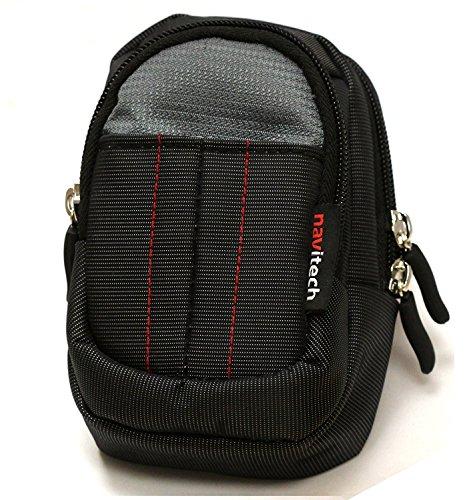 Navitech Black Handheld Pocket/Portable/Pocket Printer Carrying Case Compatible with The LG Portable Mobile Pocket Photo PD241 PD241T [Vinyl]