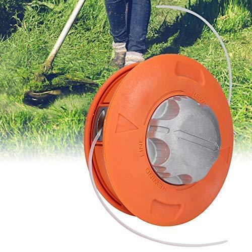 Jeffergarden Desbrozadora Twister Bump Feed Line Cabezales de cortadora de césped Automático universal de acero Cortador de cepillo Cabeza Cortadora Caja de cambios Juego de cuerdas de la cabeza