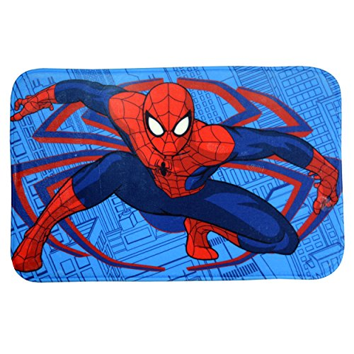 Spiderman Alfombra Memory Foam 38X58, Multicolor, 58 x 1 x 38 cms
