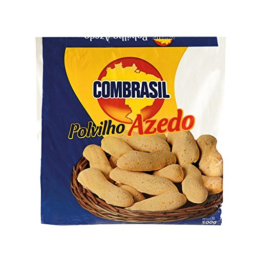 COMBRASIL Almidón de yuca, agrio- Polvilho Azedo 500g