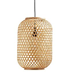Amazon Stone & Beam Rattan Pendant Light