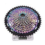 FYLYHWY MTB 12 Velocidad XD Cassette Ultimate12S 9-50T / 9-46T XD CASSETE BICICLE DE MONTAÑA SPLEEKER Rainbow K7 12V Ul Ultralight Plocket (Color : XD 12S 9 50T RB)