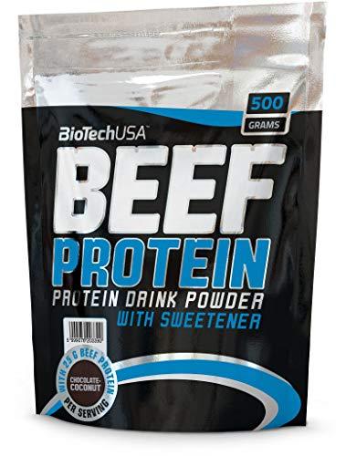 BioTech USA IAF00079134 Beef Protein, 500 g, Cioccolato Cocco
