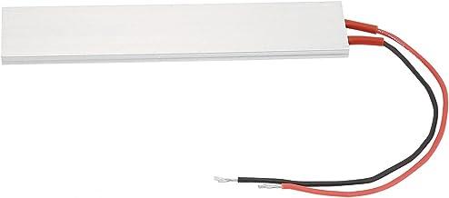 Okuyonic Placa calefactora PTC Duradera Aislamiento de cerámica Resistente Elemento Calefactor PTC ecológico para calefacción eléctrica(220V 120℃)