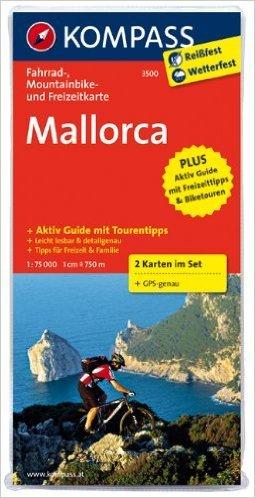 Mallorca: Fahrrad-, Mountainbike- und Freizeitkarte mit FŸhrer. GPS-genau. 1:75000 (KOMPASS-Fahrradkarten International) ( Folded Map, Dezember 2011 )