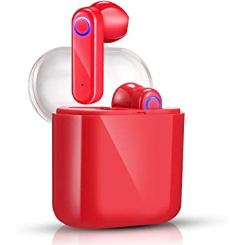 【2019 Nuevo Versi/ón】 Auriculares Inalambricos Bluetooth 5.0 15H Autonom/ía,Auriculares con Micr/ófonos Dual para iOS Android Sport BlackC14 Auriculares Bluetooth Deportivos IPX5 Impermeable
