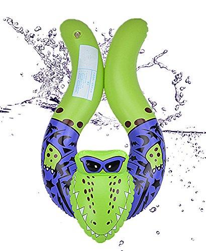 Chickwin Cartoon-Tiere Schwimmen Ring Baby Aufblasbare Schwimmbad Float Swim Ring Schwimmen Ring Achselhöhle Baby Aufgeblasen Schwimmen Ring (Crocodile)