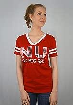 Elite Fan Shop NCAA Women's V-Neck Tshirt