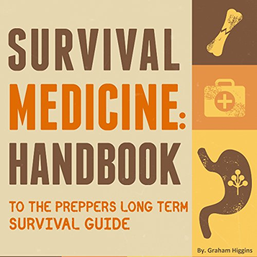 Survival Medicine audiobook cover art