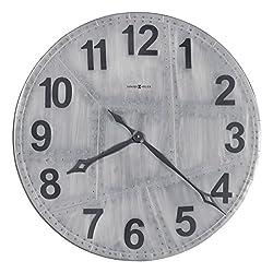 Howard Miller Aviator Gallery Wall Clock 625-629 – Oversized Aluminum with Quartz Movement