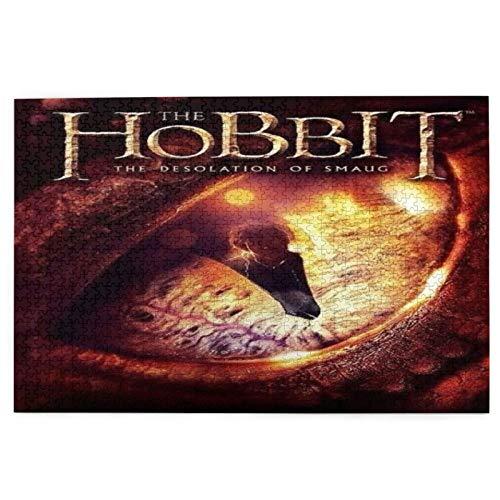 Best-design Hobbit Rompecabezas para adultos, 1000 piezas, 70,1 x 50,0 cm, 1000 piezas para adultos y niños juegos
