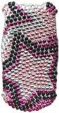 Aimo LGVN150HPCDM013NP Dazzling Diamante Bling Case for LG Revere VN150 - Retail Packaging - Twin Stars
