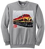 KCS Belle Authentic Railroad Sweatshirt Kids Medium (10-12) [77] Gray