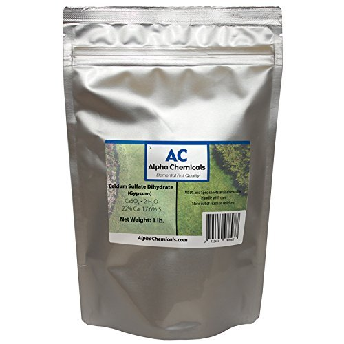 Calcium Sulfate Brand new Dihydrate Easy-to-use - 1 CaSO42H2O Pound Gypsum