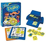 Think Fun- Zingo Juego Bilingual, Color Azul (Ravensburger 76321)