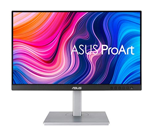 ASUS ProArt PA247CV 60,45 cm (23,8 Zoll) Professional Monitor (Full HD, IPS, 100% sRGB, 75Hz, DisplayPort Daisy-Chaining, USB-C, HDMI)
