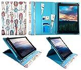 Blaupunkt Endeavour 1010 Tablet 9.7 Inch Nettes Mädchen Universal 360 Grad Wallet Schutzhülle Folio mit Kartensteckplätzen ( 9 - 10 zoll ) von Sweet Tech