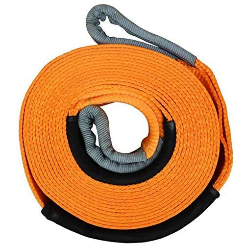 Cable de cabrestante ATV / UTV Cuerda de remolque de remolque de remolque de 5 m 5 toneladas de 5 m 5 toneladas Remolque de remolque Cuerda de remolque adecuada para piezas de automóviles pesadas 5 to