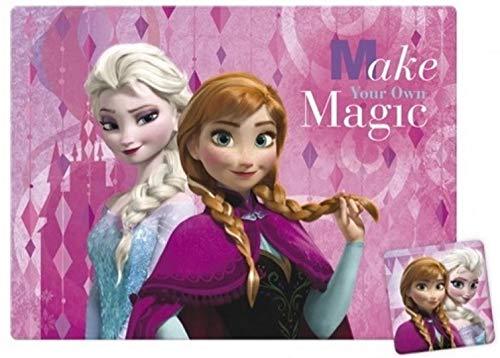 GUIZMAX Set de Table La Reine de Neiges sous Main Frozen