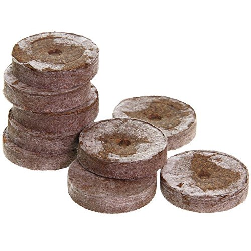 Jiffy de tourbe jiffy Lot de 100 pastilles 41 mm Source Pots semis