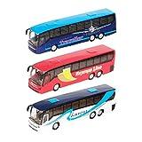 Teamsters - veicolo giocattolo, modellino di pullman, (Traveller, Airport, Express Line), colori assortiti,1 pezzo