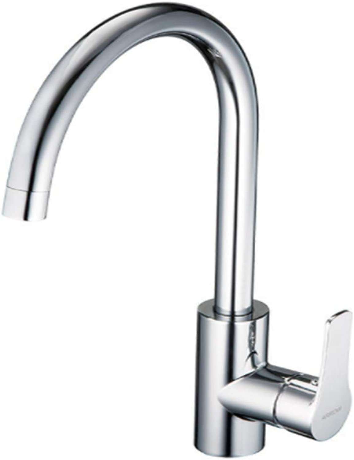 Kitchen Taps Faucet Modern Kitchen Sink Taps Stainless Steelbathroom Faucet Kitchen Faucet Hot and Cold Kitchen Dish Pot Faucet Ceramic Disc Spool